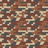 Military Seamless Pattern. Camouflage Background. Camo Fashion Texture. Army Uniform Royalty Free Stock Photography