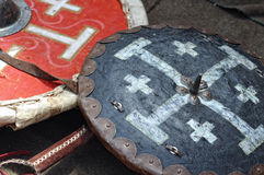 Military shields Stock Images