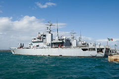 Military ship Royalty Free Stock Photography