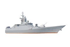 Military Ship Stock Photo