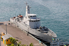Military ship Royalty Free Stock Photo