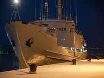 Military ship Stock Images