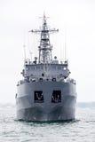 Military ship at Black sea Stock Photography