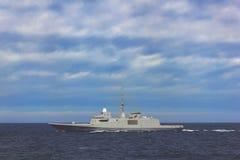 Military ship Stock Photography
