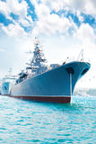 Military ship Royalty Free Stock Photos