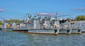 Military ships Royalty Free Stock Photography
