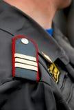 Military shoulder-strap stock image