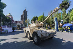 Military show at Zocalo Stock Images