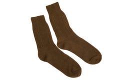 Military socks close up Stock Photos