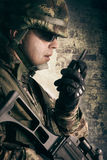Military soldiers Stock Photos