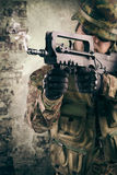 Military soldiers Stock Image