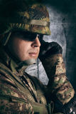 Military soldiers Stock Photography