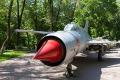 Military Soviet aircraft Stock Photo