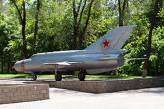 Military Soviet aircraft Stock Images