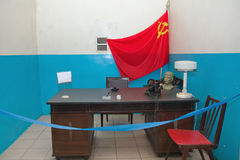 Military soviet bunker Royalty Free Stock Image