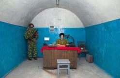 Military soviet bunker Stock Photos