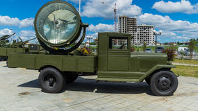The military Soviet car of times of the Second World War Stock Photo