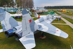Military Soviet jet Stock Photo