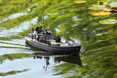 Military speedboat Royalty Free Stock Image