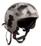 Military spotted helmet Royalty Free Stock Photography