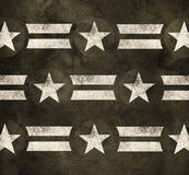 Military stars background. Pride power strength Stock Photos