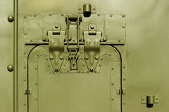 Military steel bodywork Stock Photos