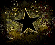 Military stile star background Royalty Free Stock Photo