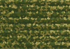 Military style army khaki backdrop protective canvas fragmented protective drawing multifaceted kaleidoscope effect vector illustration