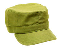 Military-style cap Royalty Free Stock Photo