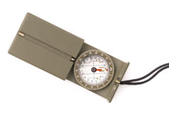 Military Style Compass Royalty Free Stock Image
