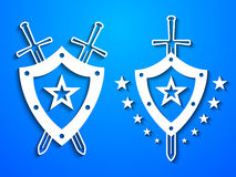 Military style emblems Royalty Free Stock Photo