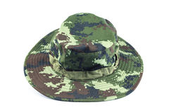 Military style hat. Stock Images
