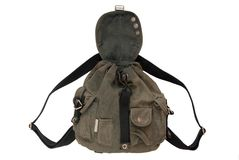 Military style rucksack Royalty Free Stock Image
