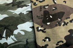 Military suit Stock Photo