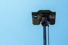 Military surveillance sensor head Stock Photography