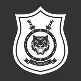 Military symbol, legionary. Royalty Free Stock Image
