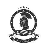 Military symbol, legionary`s. Stock Photo