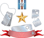 Military Symbols Royalty Free Stock Photo