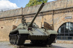 Military T-55 tank Poland Stock Photography