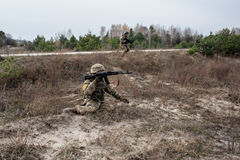 Military and tactical medical training Royalty Free Stock Photography