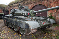 Military tank. Shot of a russian military tank stock images