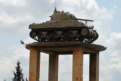 Military Tank on display Stock Image