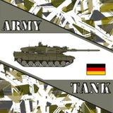 Military tank german army. Stock Photo