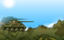 A military tank Royalty Free Stock Photo