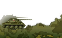 A military tank Stock Photography