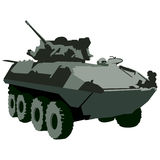 Military Tank. An image of a military tank Royalty Free Stock Photo