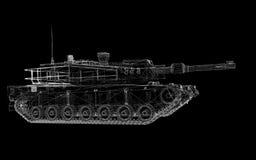Military tank Royalty Free Stock Photo