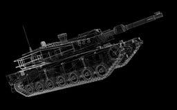 Military tank Stock Photo