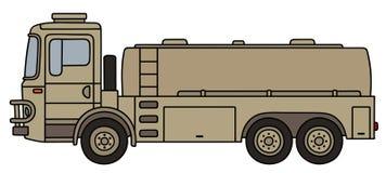 Military tank truck Royalty Free Stock Photos