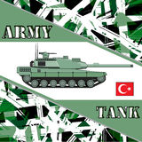Military tank turkey army Royalty Free Stock Image